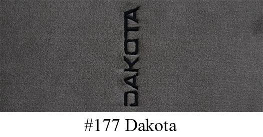 1997 2004 Dodge Dakota Floor Mats 2pc Front Cutpile