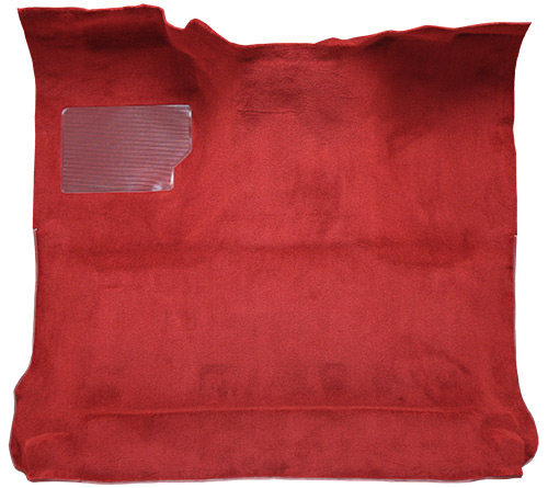 1980-1986 Ford F-150 Carpet Replacement - Cutpile - Complete | Fits: Regular Cab, 2WD, Auto
