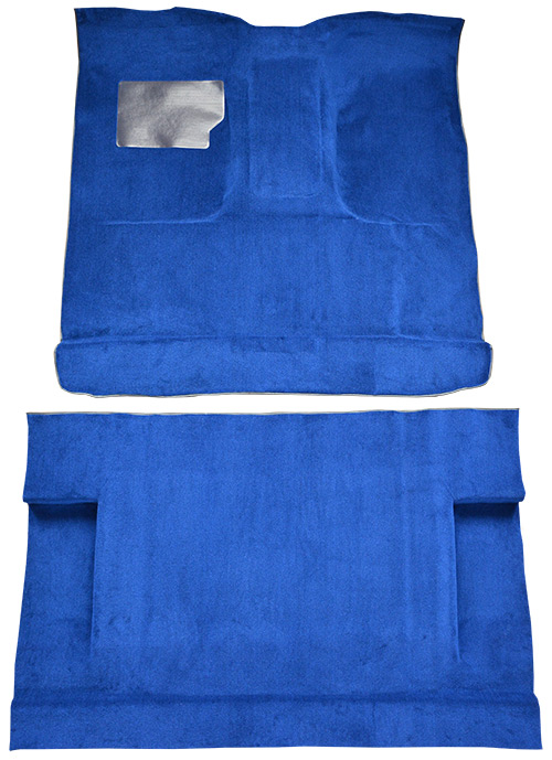 1975-1979 Ford F-350 Carpet Replacement - Cutpile - Complete | Fits: Crew Cab, 4WD, Auto, 4spd