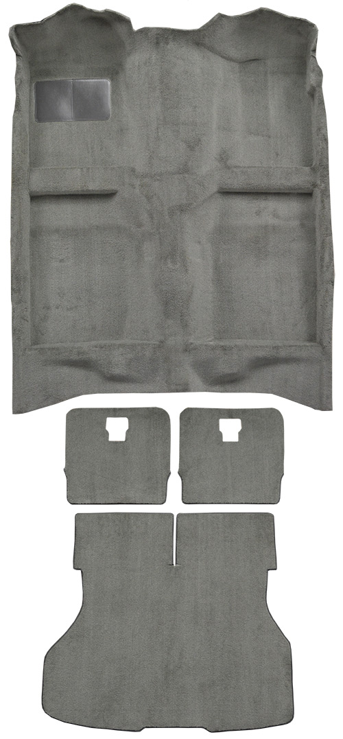 1987-1993 Ford Mustang Carpet Replacement - Cutpile - Complete | Fits: Hatchback, Complete