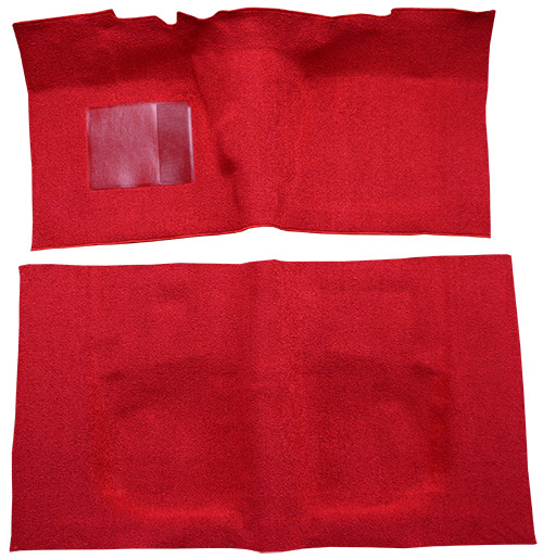 1963-1964 Ford Galaxie Carpet Replacement - Loop - Complete | Fits: 2DR, Sedan, 4spd, Flat Front, Long Rear