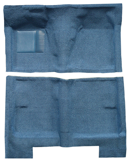 1962-1965 Ford Fairlane Carpet Replacement - Loop - Complete | Fits: 4DR, Sedan, Full Molded