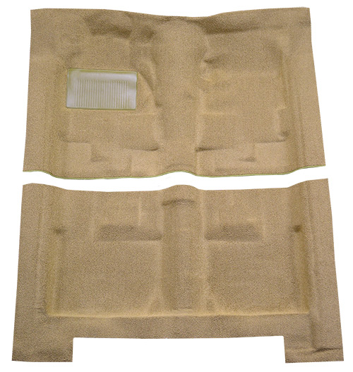 1966-1970 Dodge Coronet Carpet Replacement - Loop - Complete | Fits: 4DR, Auto