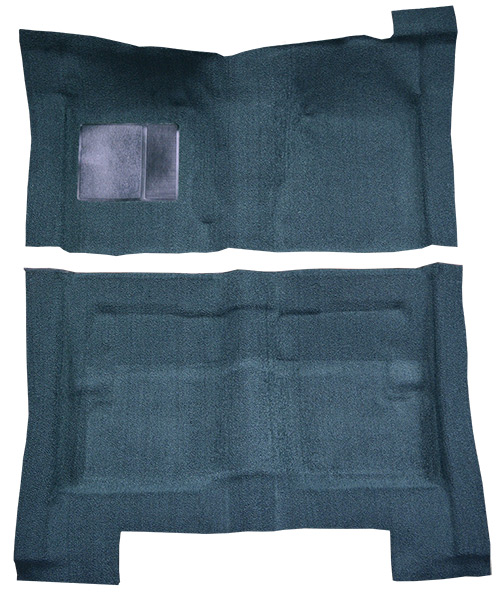 1966-1969 Ford Falcon Futura Carpet Replacement - Loop - Complete | Fits: 4DR, Sedan
