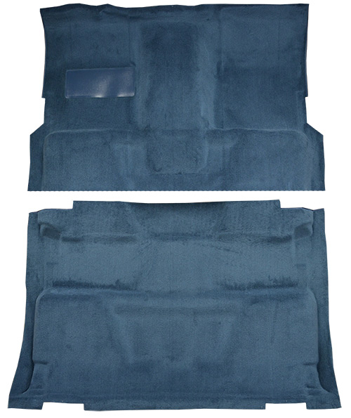 1973 Chevy K30 Pickup Carpet Replacement - Loop - Complete | Fits: Crew Cab, 4WD, Auto, 4spd