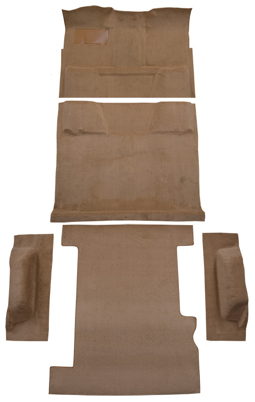 1973 Chevy C10 Suburban Carpet Replacement - Loop - Complete | Fits: 2WD, Auto, Complete