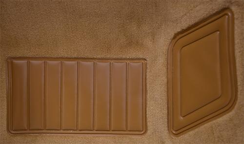 1975-1976 Fits Nissan/Datsun 280Z Carpet Replacement - Cutpile - Passenger Area