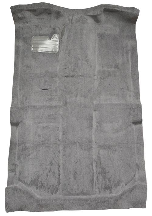 1992-1998 Chevy K2500 Suburban Carpet Replacement - Cutpile - Passenger Area | Fits: w/o Heat Vents