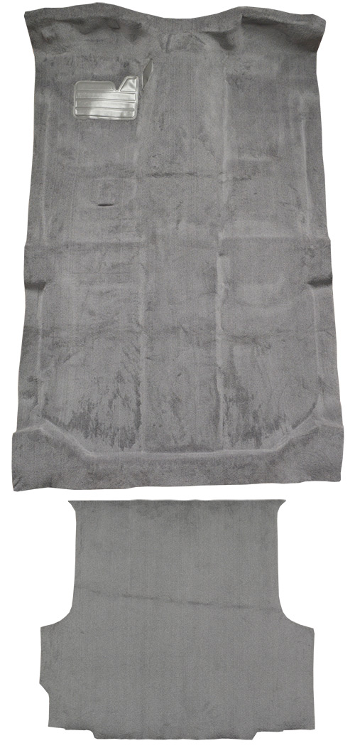 1992-1998 Chevy K2500 Suburban Carpet Replacement - Cutpile - Complete | Fits: w/o Heat Vents, Complete