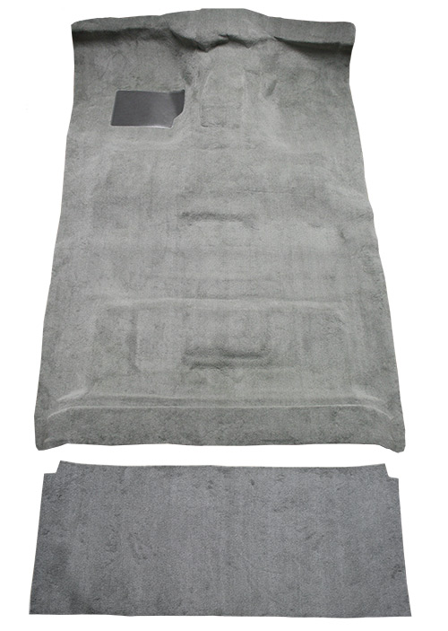 1987-1997 Ford F-350 Carpet Replacement - Cutpile - Complete | Fits: Crew Cab, 2WD, 4spd, Gas