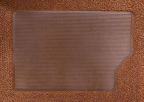 1974-1979 Ford F-250 Carpet Replacement - Complete - Cutpile | Fits: Ext Cab, 2WD, Auto C-6 Trans, Column Shift