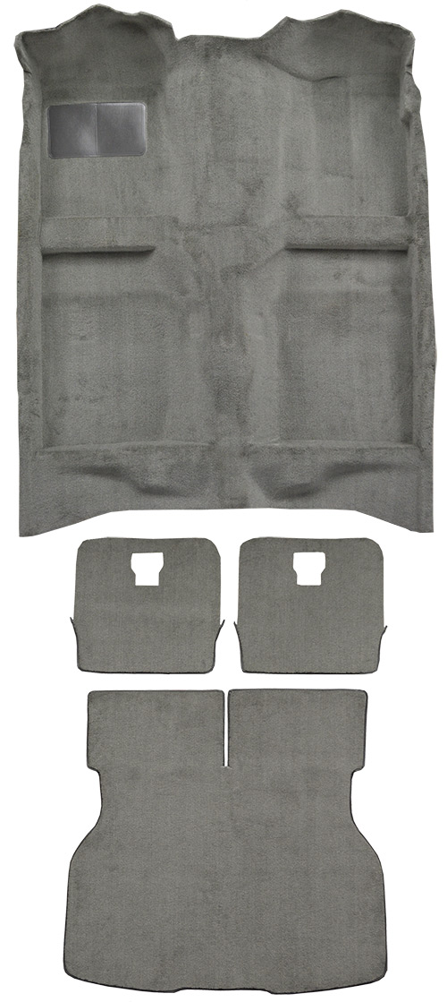 1984-1986 Ford Mustang Carpet Replacement - Cutpile - Complete | Fits: Hatchback, Complete