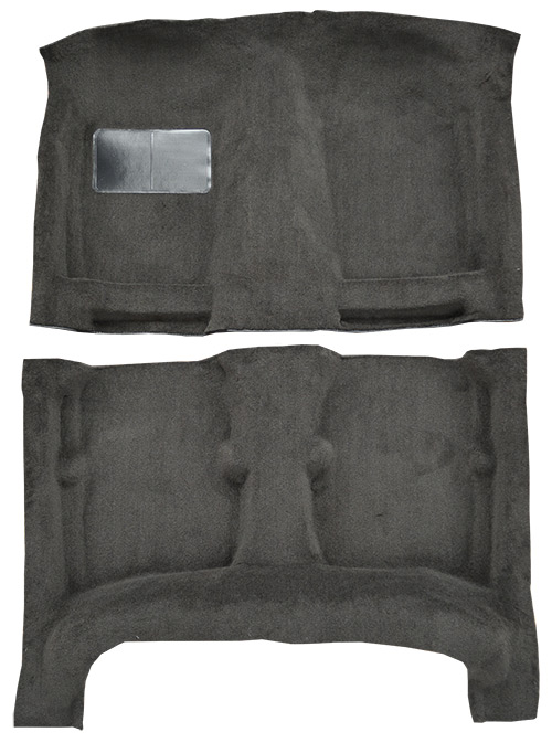 1984-1987 Toyota Corolla Carpet Replacement - Cutpile - Complete | Fits: 4DR, Sedan, w/o Heat Vents