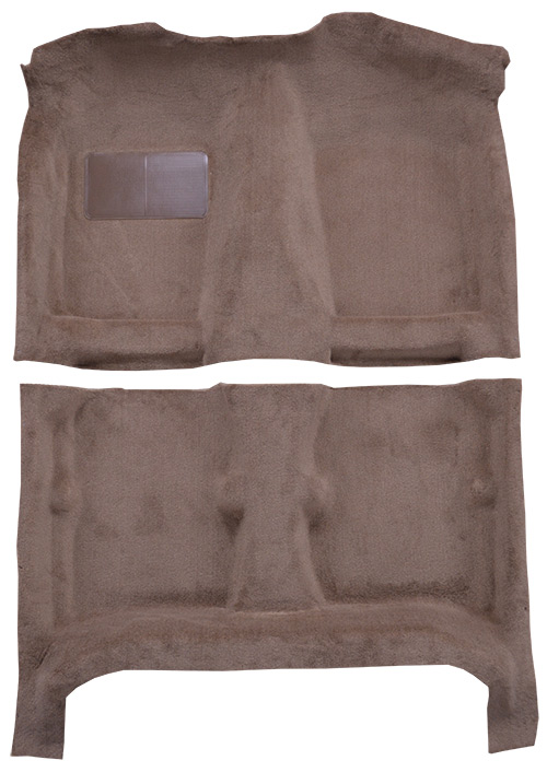 1984-1987 Toyota Corolla Carpet Replacement - Cutpile - Complete | Fits: 4DR, Lift Back, w/o Heat Vents