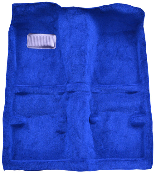 1980-1983 Toyota Corolla Carpet Replacement - Cutpile - Passenger Area | Fits: 2DR, Rear Wheel Drive