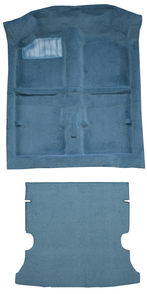 1989-1994 Geo Metro Carpet Replacement - Cutpile - Complete | Fits: 2DR, Hatchback, w/o Split Rear Seat, Complete