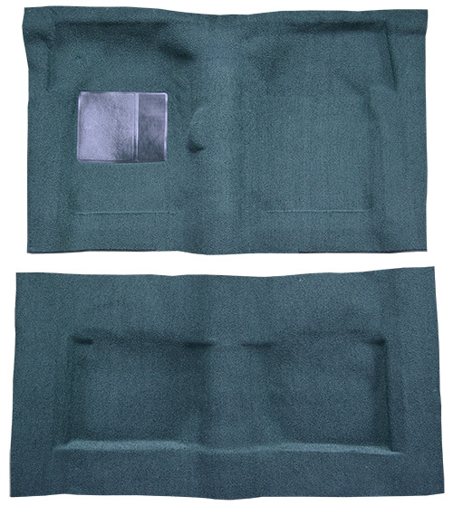 1965-1967 Ford Galaxie Carpet Replacement - Loop - Complete | Fits: 2DR, Fastback, 4spd