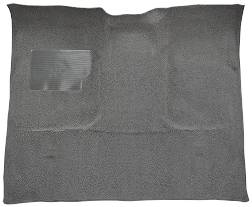 1965-1972 Ford F-100 Carpet Replacement - Loop - Complete | Fits: Regular Cab, 2WD, Auto, 3spd, w/Gas Tank in Cab, Column Shift