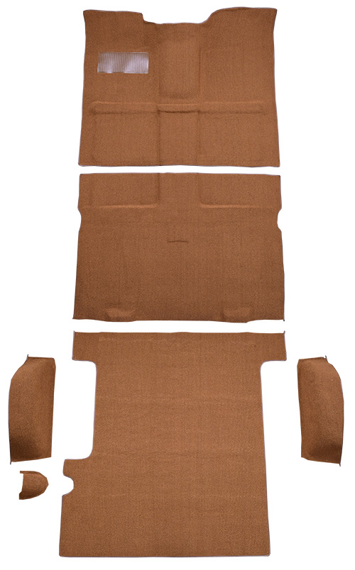1967-1972 Chevy C10 Suburban Carpet Replacement - Loop - Complete | Fits: 2WD, 4spd, Floor Shift, Complete