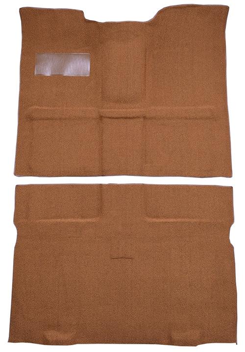 1967-1972 Chevy C10 Suburban Carpet Replacement - Loop - Passenger Area | Fits: 2WD, 4spd, Floor Shift