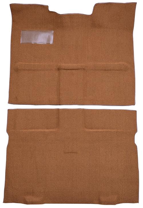 1967-1972 Chevy C10 Suburban Carpet Replacement - Loop - Passenger Area | Fits: 2WD, Auto, 3spd, Column Shift