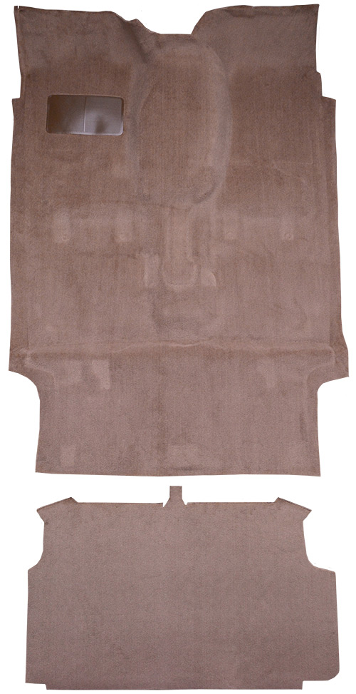 1984-1990 Ford Bronco II Carpet Replacement - Cutpile - Complete | Fits: Complete