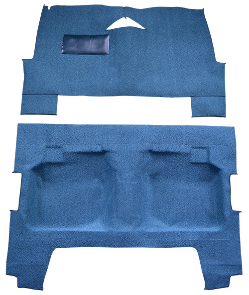 1960 Chevy Impala Carpet Replacement - Loop - Complete | Fits: 4DR, Sedan