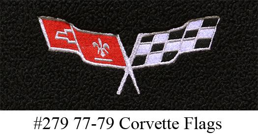 1978 Corvette C3 Indianapolis 500 Pace Car Floor Mats