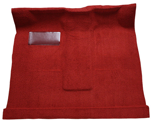 1961-1964 Ford F-100 Carpet Replacement - Loop - Complete | Fits: Regular Cab, with 2 (lo) Tunnel