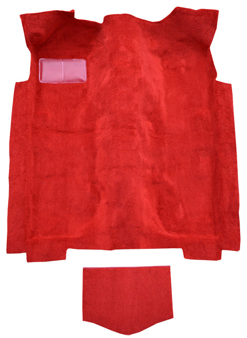 1978 Ford Mustang II Carpet Replacement - Cutpile - Passenger Area | Fits: with Tail