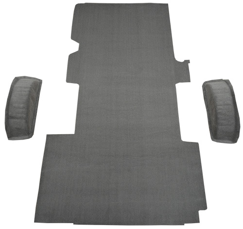 1999-2014 Ford E-350 Super Duty Carpet Replacement - Cargo Area - Cutpile | Fits: Ext, Van Fits Gas or Diesel