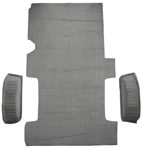 2003-2014 Ford E-250 Carpet Replacement - Cargo Area - Cutpile | Fits: Reg, Fits Gas or Diesel