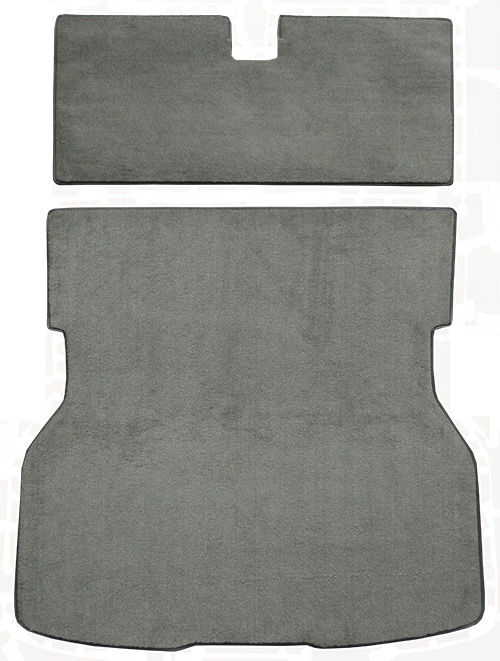 1983 Ford Mustang Carpet Replacement - Cargo Area - Cutpile | Fits: Hatchback, Rear Fits Bench Rear Seat