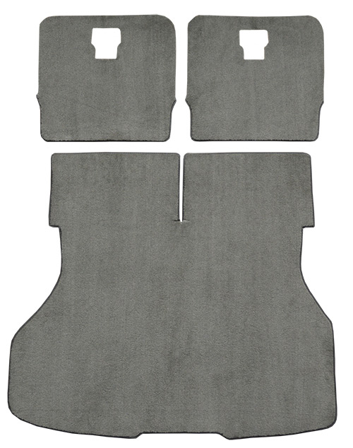 1987-1993 Ford Mustang Carpet Replacement - Cargo Area - Cutpile | Fits: Hatchback