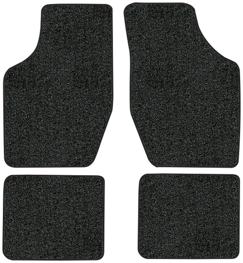1988-1991 Oldsmobile Cutlass Calais Floor Mats - 4pc - Cutpile