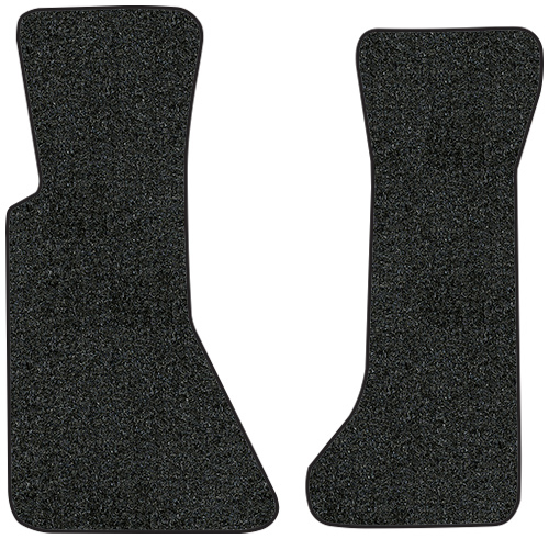 1984-1987 Corvette Floor Mats - 2pc - Cutpile