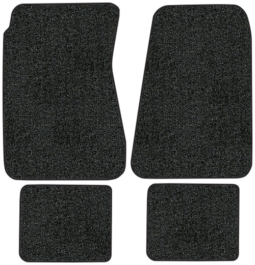 1968-1972 Buick Skylark Floor Mats - 4pc - Loop