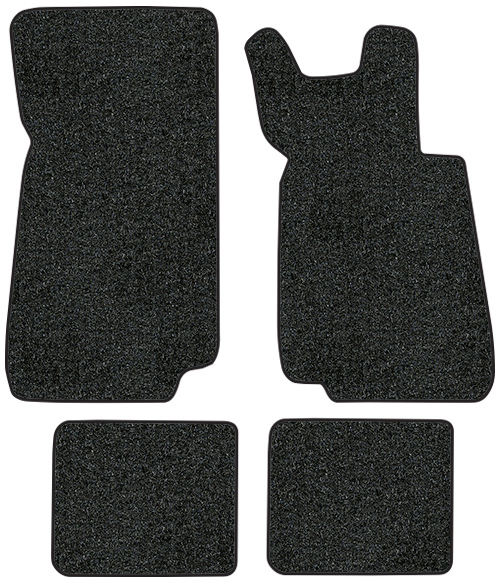 1987-1991 BMW 325i Floor Mats - 4pc - Cutpile