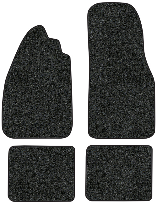 1955-1973 Volkswagen Beetle Floor Mats - 4pc - Loop