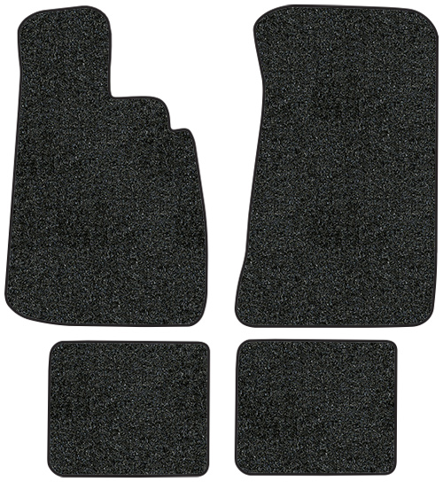 1966-1976 BMW 2002 Floor Mats - 4pc - Cutpile