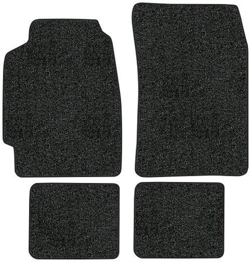 1990-1993 Acura Integra Floor Mats - 4pc - Cutpile | Fits: 2DR,