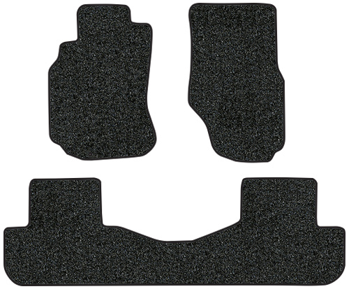 2003-2005 Fits Infiniti G35 Floor Mats - 3pc - Cutpile | Fits: Sedan, 2pc Frts & 1pc Rr