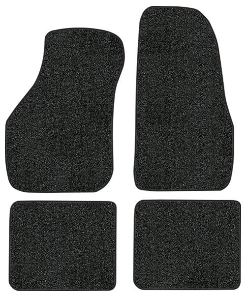 1988-1993 Volkswagen Cabriolet Floor Mats - 4pc - Cutpile | Fits: Convertible