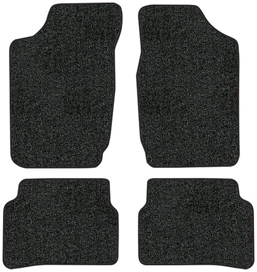 1987-1989 Toyota Corolla Floor Mats - 4pc - Cutpile