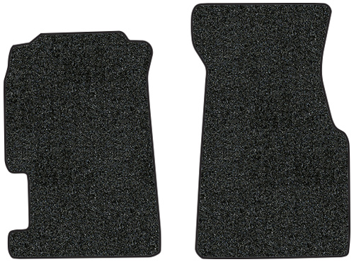 1995-1997 Honda Civic del Sol Floor Mats - 2pc - Cutpile