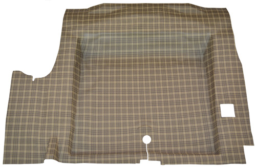 1964-1968 Ford Mustang Trunk Mat - TM Vinyl | Fits: Coupe, Convertible, Molded