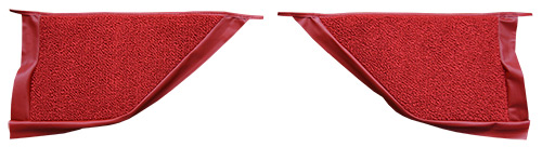 1967-1968 Mercury Cougar Kick Panel Carpet Replacement - Loop | Fits: Coupe, Inserts