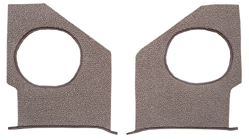1965 Chevy Impala Kick Panel Carpet Replacement - Loop | Fits: Inserts without Air
