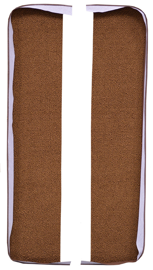 1965 Chevy Impala Door Panel Replacement Carpet - Loop | Fits: 2DR, Inserts
