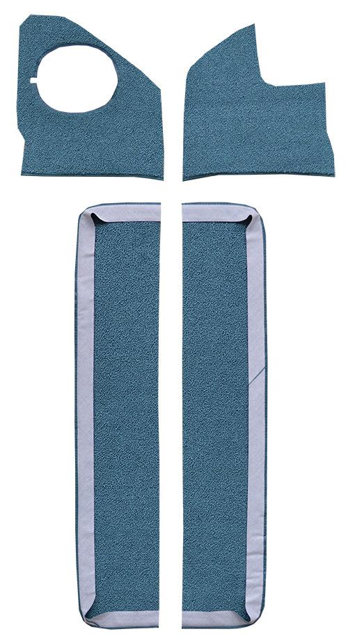 1961-1964 Chevy Impala Door & Kick Panel Carpet Replacement | Fits: with Air, Door & Kick Panel Inserts
